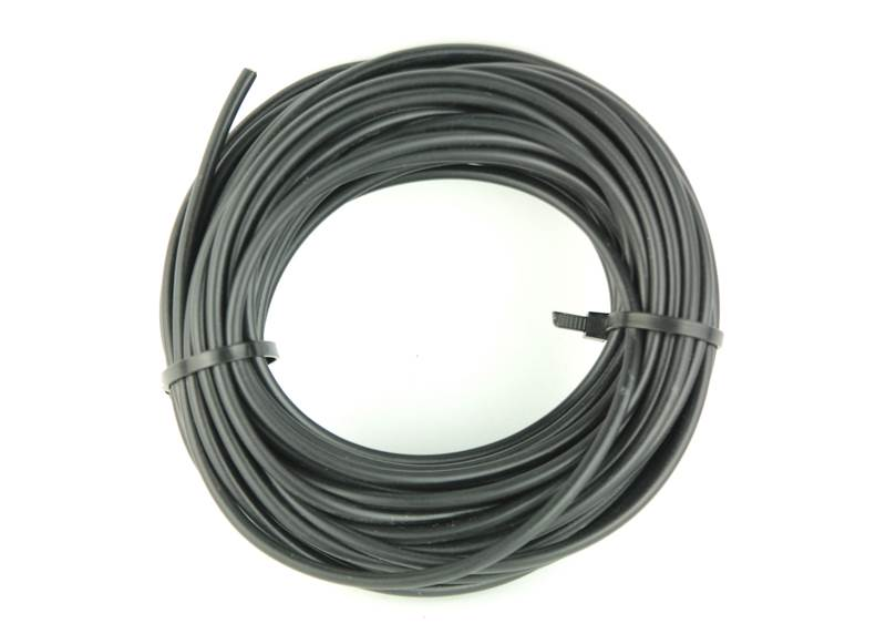 Fil electrique auto souple 1 mm noir 10 m - Fil electrique souple ...