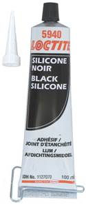 PATE A JOINT SILICONE NOIR LOCTITE SI 5940, TUBE DE 100 ml