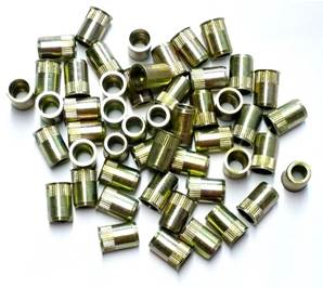 INSERTS FILETES DE 8 mm TETE FRAISEE