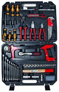 MALLETTE D'OUTILS A MAIN 84 PIECES
