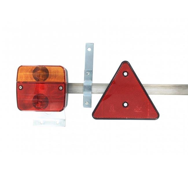 rampe feux remorque agricole reglable de 1 22 m a 2 10 m. Black Bedroom Furniture Sets. Home Design Ideas