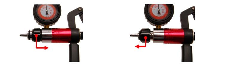 comment utiliser un pistolet pompe a vide et a pression oc pro fr. Black Bedroom Furniture Sets. Home Design Ideas
