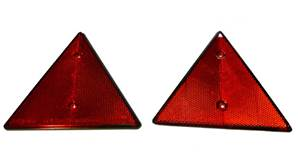 TRIANGLES DE REMORQUE - LOT DE 2 TRIANGLES