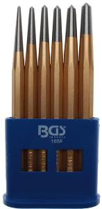 ASSORTIMENT DE 6 POINTEAUX BGS TECHNIC 3-4-5-6-7-8 mm