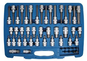 EMBOUTS TORX - XZN - 6 PANS MALES BGS