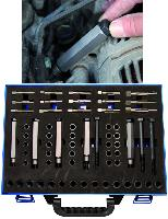 KIT DE REPARATION POUR FILETAGE DE BOUGIE BGS, 8/9/10/12 mm