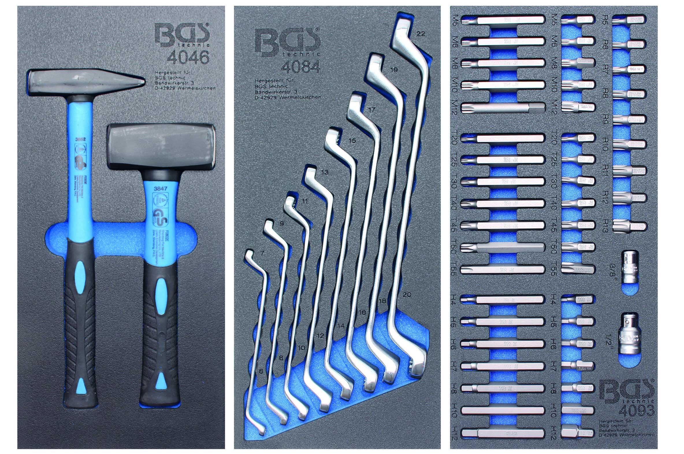 servante d 39 atelier complete mecanicien avec outils bgs. Black Bedroom Furniture Sets. Home Design Ideas