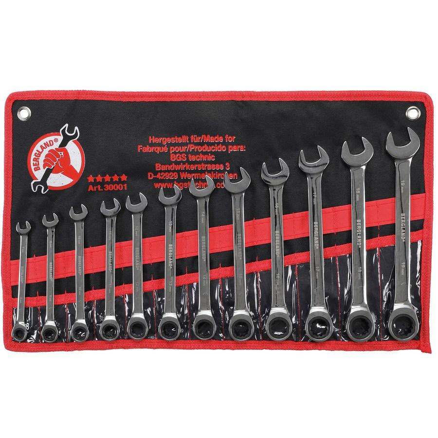 Jeu de 12 clés mixtes 8-19 mm