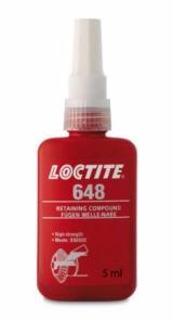 LOCTITE 648 FREIN FILET PROFESSIONNEL fixation  fort 5 ml