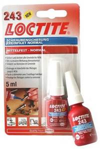 LOCTITE 243 FREIN FILET MOYEN NORMAL PROFESSIONNEL 5 ML
